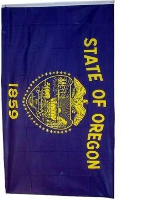 Oregon 3ft x 5ft Printed Polyester Flag