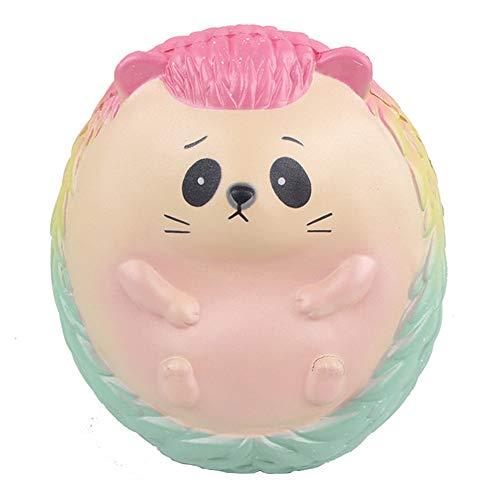 Ulanda Jumbo Super Giant Soft Squishies Galaxy Hedgehog Squishy Slow Rising Squeeze Toy Stress Relief Toys for Kids Adults ()