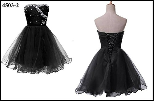 Ever Pretty, Grace Karin Quissmoda Vestido Fiesta Corto Boda, Color Azul ,Negro,
