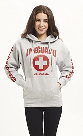 Amazon.com: Officially Licensed Lifeguard Ladies California Hoodie ...
