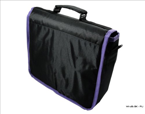 Trim Bag Surface Style Messenger Black amp; for Case Microsoft New Purple Tablet CwqOAt