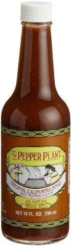 Pepper Plant Original Hot Pepper Sauce, 10 -
