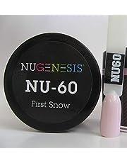 NUGENESIS Nail Color SNS Dip Dipping Powder NU 60 First Snow 1.5oz/43g