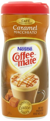Coffee-mate Cafe Collection Caramel Macchiato, 15-Ounce (Pack of 3) -
