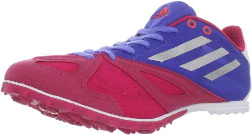 Scarpa Da Running Adidas Womens Xcs 3 Spike Rosa Brillante / Argento Metallizzato / Blu Laboratorio