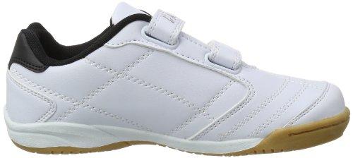 Killtec Genua Jr - Zapatillas de deporte para interior de material sintético infantil, unisex blanco - Weiß (weiss 00100)