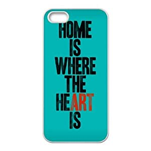 home is where Personalized Cover Case with Hard Shell Protection for Iphone 5,5S Case lxa#894821