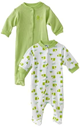 Gerber Unisex-Baby Newborn 2 Pack  Snap Front Sleep and Play
