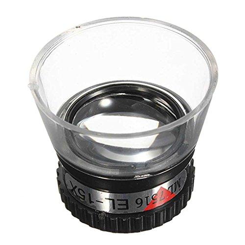 15X Monocular Magnifying Glass Loupe Lens Jeweler Tool Eye Magnifier Watch Repair ()