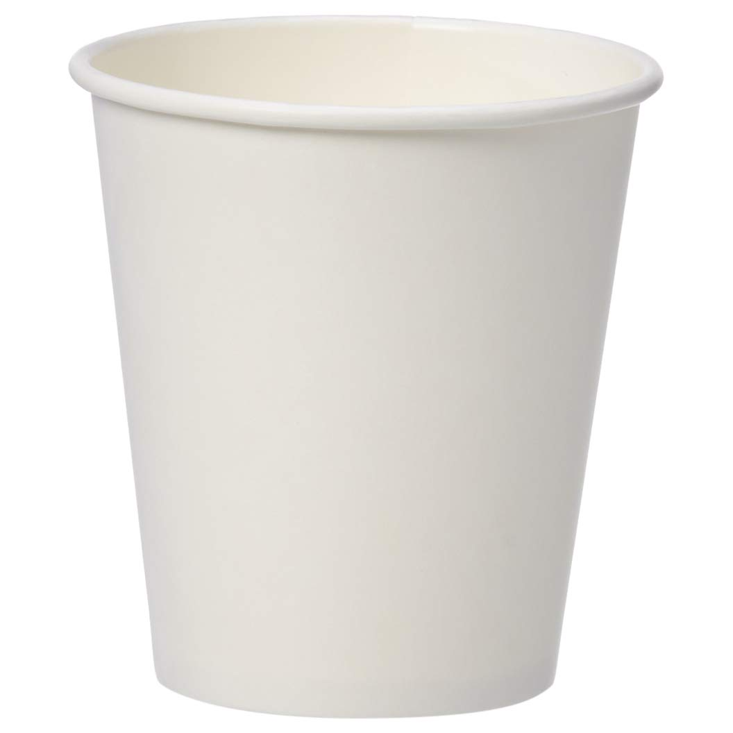 AmazonBasics Compostable PLA Laminated Hot Paper Cup, 10 oz, 500-Count