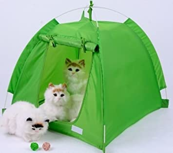 Portable Outdoor C&ing Dog Tent Pet Sun Shelter House Cat Tent Waterproof Green 22.83u0026quot; & Amazon.com : Portable Outdoor Camping Dog Tent Pet Sun Shelter ...