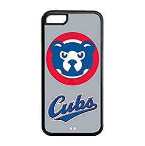 iPhone 5C TPU Case with Baseball Chicago Cubs Team Design-by Allthingsbasketball