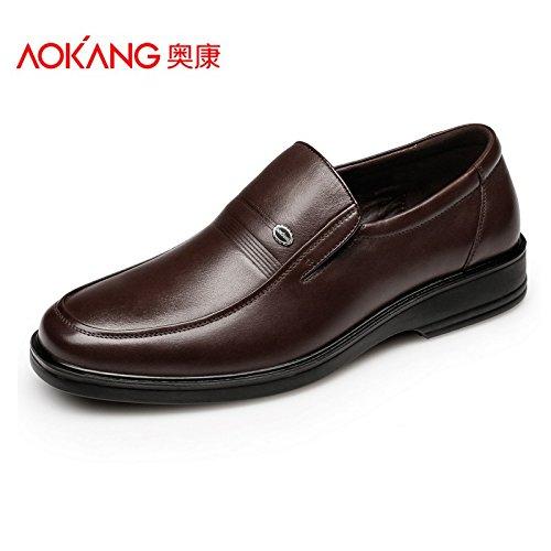 Il Aemember Day-To-giorno Business Casual Scarpe, Scarpe da uomo e ambiente confortevole piedi scarpe scarpe da lavoro ,41,176011171 Brown