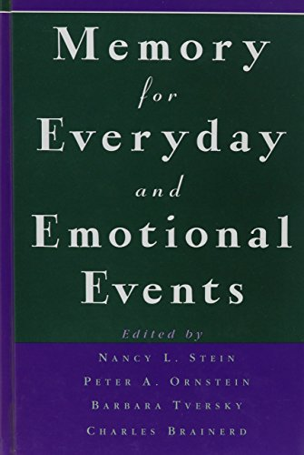 Memory for Everyday and Emotional Events (Best Of Janet Mason)