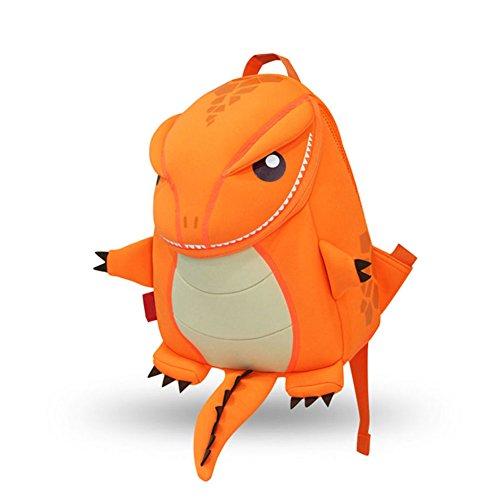 YISIBO Waterproof Kids Backpack 3D Cute Zoo Cartoon Pre School Children Toddler Sidesick Bags