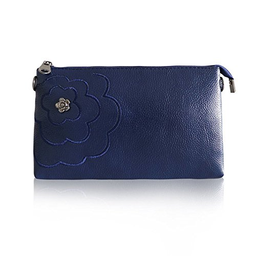 GWQGZ Bolso De Señora, Nuevo Estilo, Moda, Mini Bag Simple, Azul Blue