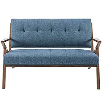 Amazon.com: Ink+Ivy Rocket Accent Loveseat - Solid Wood, All ...
