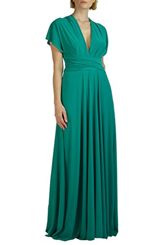 Von Vonni Infinity/Transformer/Convertible Maxi Dress ,Light Jade,One Size Fits USA ()