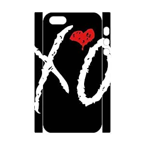 C-EUR Cell phone Protection Cover 3D Case The Weeknd XO For iphone 4/4s iphone 4/4s,