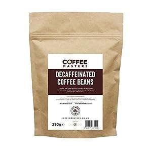 Coffee Masters Chicchi di Caffè Decaffeinato (100% Arabica) 250g