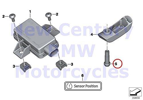 Bmw Motorcycle Wheels - BMW Genuine Motorcycle Tyre Pressure Control System RDC Sensor Pin R1200RT R900RT R1200R R1200ST R1200S K1200S K1300S K1200R K1200R Sport K1300R K1200GT K1300GT K1600GT K1600GTL K1600GTL Excl R1200GS