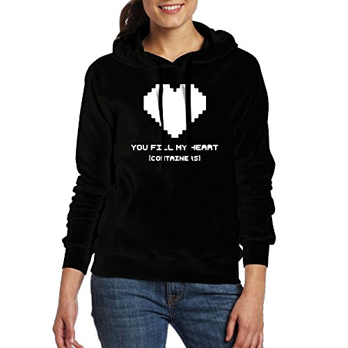 Kawerfgd Fill My Heart CONTAINERS Men's Geek Long Sleeve Hoodie S - Usps International First Class Rates