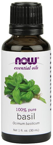 NOW Basil Oil, 1-Ounce
