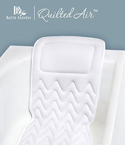 QuiltedAir BathBed -FULL BODY COMFORT- Luxury Spa Bath Pillow and Mat (Bat Tub Baby compare prices)