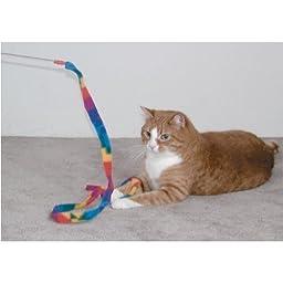 Cat Dancer-Cat Charmer Wand,Teaser-Cat & Kitten Toy! Size:Pack of 2