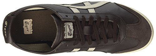 Asics Mexico 66, Baskets Basses Sport Unisexes Marron (café / Gris Plume)