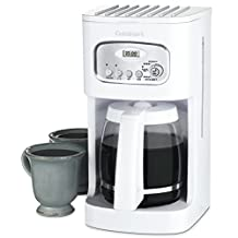 Cuisinart DCC-1100C 12-Cup Classic Programmable Coffeemaker, White