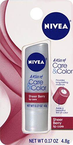 Sheer Cherry Lip Gloss (NIVEA Care & Color Sheer Berry Lip Care 0.17 Ounce Carded Pack)