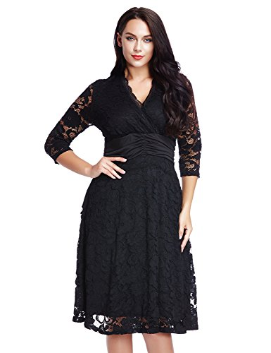 LookbookStore Womens Scalloped Formal Empire