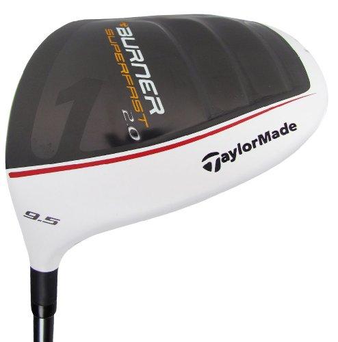 TaylorMade Burner Super Fast 2.0 Golf Driver, Left Hand, Graphite, 10.5-Degree, Regular
