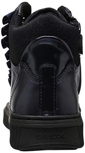 Geox Discomix Blu Sneaker J C4002 A navy Collo Bambina A Alto rFwrq5aAg