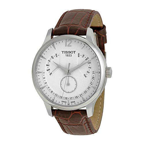 Tissot Men's T0636371603700 Stainless Steel Watch With Brown Band