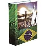 Álbum de Viagem - 100 fotos - 15x21 - Capa Dura - Janela personalizável