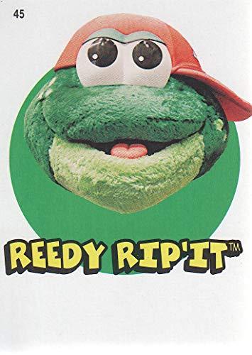2016 Topps Heritage Minors Baseball '67 Stickers #45 Reedy Rip'it Greenville Drive (Drive Rip)
