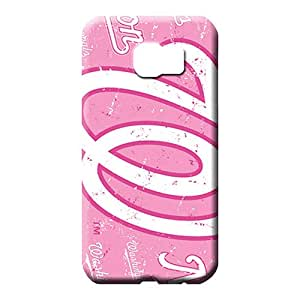 samsung galaxy s6 edge Popular Unique Back Covers Snap On Cases For phone mobile phone carrying skins washington nationals mlb baseball