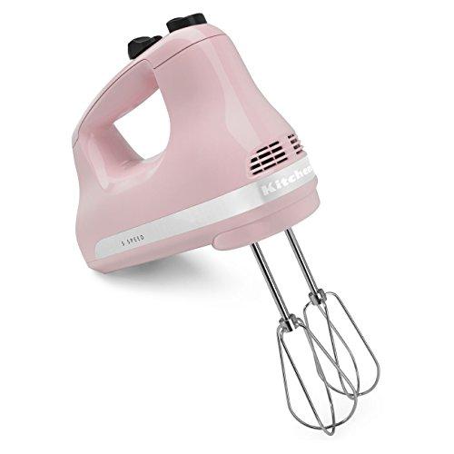 KitchenAid KHM512PK Khm52Pk Hand Mixer, 1″, Pink For Sale