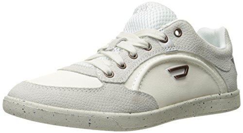 Diesel Mens Eastcop Amido Moda Sneaker T Bianco