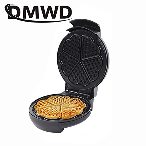 DMWD Electric Waffle Maker Crepe Toaster Non-stick Household Muffin Iron Buuble Eggs Cake Oven Breakfast Baking Machine EU plug for $<!--$53.87-->