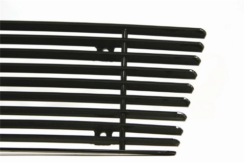 - Carriage Works 44323 Black Billet Bolt Over Grille Insert