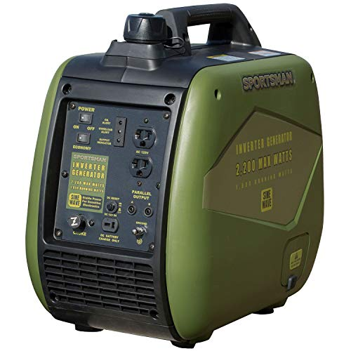 Sportsman 2,200-Watt Gasoline Powered Recoil Start Portable Digital Inverter Generator with Parallel Capability ()