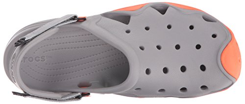 Swiftwater tangerine Clog Uomo Smoke M Crocs Ciabatte zdHYBw8x
