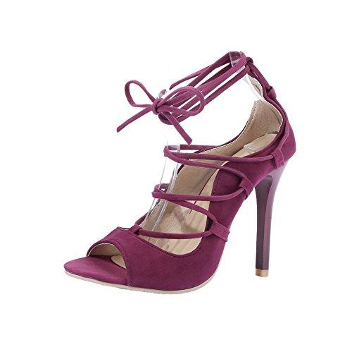 Viola con tacco infraditotsmlh006224 altosandali Aalardom Sandalo aperto Women ONk8X0wnP