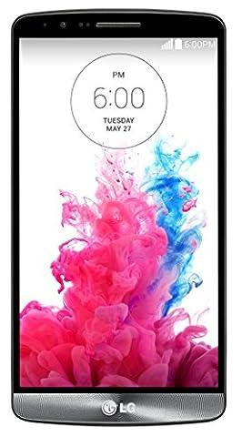 LG G3 D850 32GB Unlocked Smartphone, GSM 4G LTE-Quad-HD, 5.5-Inch,(Metallic Black) (Smartphone Unlocked Deals)