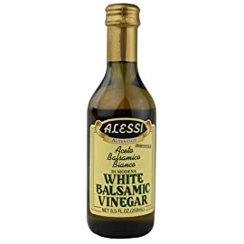 Alessi White Balsamic Vinegar Unflavored -- 8.5 fl oz - 2 pc 9 Alessi White Balsamic Vinegar Unflavored -- 8.5 fl oz - 2 pc
