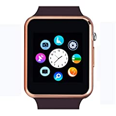 NOTE 1.This watch is bluetooth 3.0. All functions support android 4.3 and up smart phones. 2.For iPhone, this watch supports answer & make calls, phone book, music play, camera, clock, pedometer, sleep monitoring, sedentary remind, etc. B...