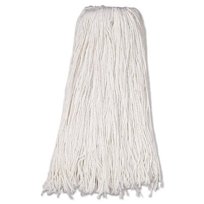 Boardwalk BWK232R Mop Head, Premium Standard Head, Rayon Fiber, 32oz, White (Case of 12) by Boardwalk (Image #1)